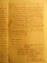 Image of Will of Thomas Stillwell, page 3 (copy, 1704) (item 14)