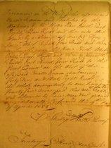Image of Land survey for Captain Thomas Stillwell (copy, 1721) (item 14)