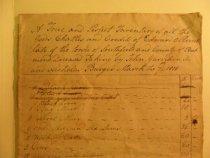 Image of detail, Edward O. Perine inventory 1818 (item 78)