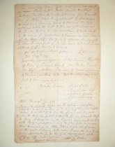 Image of Inventory of damage to woodland of Widow Perine, 1783 (item 41)