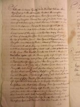 Image of Will of Thomas Stillwell, page 2 (copy, 1704) (item 14)