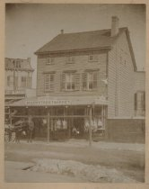Image of John Bardes Beach Street Market, Stapleton, ca. 1896