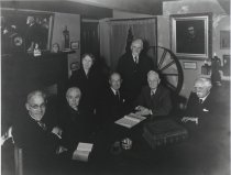 Image of Early Members of Staten Island Historical Society, 1940, photo by Russart