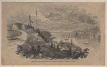 Image of View of the New York Bay and Harbor