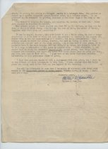 Image of Letter from M. W. Hamilton to G. Simmons, Sept. 4, 1941, pg. 2
