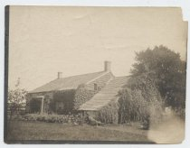 Image of Britton Cottage, New Dorp, rear view, ca. 1905-1920