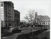 Image of Borough Hall, St. George, photo by Herbert A. Flamm, ca. 1950