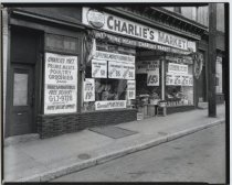 Image of Charlie's Market, photo by Herbert A. Flamm, 1956