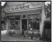 Image of Joe's Clam House, photo by Herbert Flamm, 1950