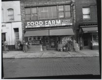 Image of Food Farm super market, photo by Herbert A. Flamm, 1955