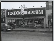 Image of Food Farm, Port Richmond, photo by Herbert Flamm, 1955