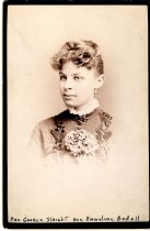Image of photo portrait of Emmeline (Bedell) Slaight