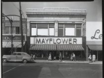 Image of Mayflower Store, Port Richmond, photo by Herbert A. Flamm, Sept. 15, 1952
