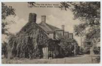 Image of Postcard, The Old Britton Cottage, ca. 1907-1925