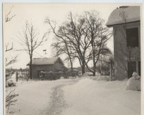 Image of Parsonage, Blizzard of 1947, photo by Henry G. Steinmeyer Jr.