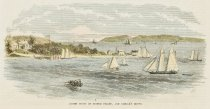 Image of detail, South Point of Staten Island, And Biddle's Grove.