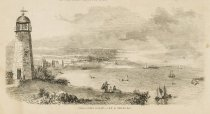 Image of detail, Famous Oyster Locality.--View of Prince's Bay,