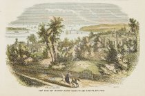 Image of detail, View From New Brighton, Staten Island, On The Narrows, New York.