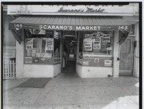 Image of [Scarano's Market exterior] - Negative, Film
