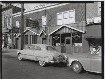 Image of Demyan's Hofbrau Restaurant, photo by Herbert A. Flamm, 1955