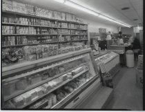 Image of Joe's Delicatessen interior , photo by Herbert A. Flamm, ca. 1965