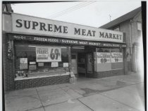 Image of Supreme Meat Market,  photo by Herbert A. Flamm, 1964