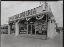 Image of Ajello Dairies Salumeria, photo by Herbert A. Flamm, 1968