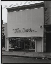 Image of Thom McAn shoe store, photo by Herbert A. Flamm, 1966