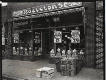 Image of [Roulstons grocery store] - Negative, Film
