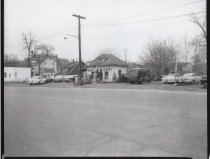 Image of ABC service station, photo by Herbert A. Flamm, 1956