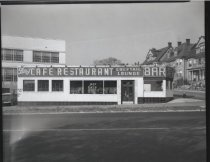 Image of Bay Cafe Restaurant, photo by Herbert A. Flamm, 1954