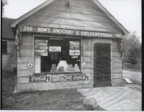 Image of Bow's Grocery, photo by Herbert A. Flamm, 1950