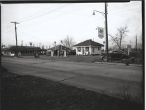 Image of [Olsen Bros. service station] - Negative, Film