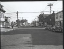 Image of Broad Street at Cedar Street, photo by Herbert A. Flamm, 1956