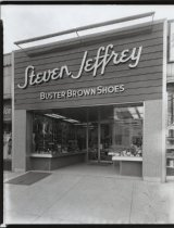 Image of Steven Jeffrey shoe store, photo by Herbert A. Flamm, 1964