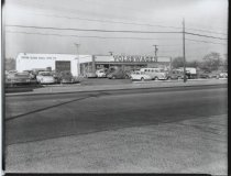 Image of Volkswagon dealership, photo by Herbert A. Flamm, 1962