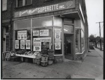 Image of Grand Manor Superette, photo by Herbert A. Flamm, 1963