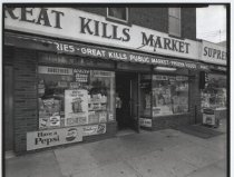 Image of Great Kills Market, photo by Herbert A. Flamm, 1963