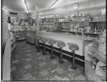 Image of Cantor drugstore, photo by Herbert A. Flamm, 1963