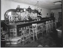 Image of Uncle Frank's Restaurant interior, photo by Herbert A. Flamm, 1964