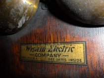 Image of detail, Western Electric Company label