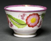 Image of side view of teacup