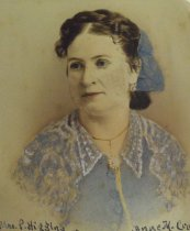 Image of Portrait of Anne Mills (Craw) Higgins (from MS027, folder 17.5)