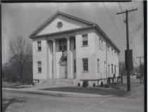 Image of Great Kills Masonic Lodge, photo by Herbert A. Flamm, 1948