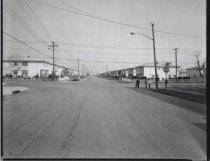 Image of Mill Road and Tysens Lane, photo by Herbert A. Flamm, 1967