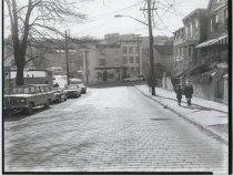 Image of Westervelt Avenue at Brook Street, photo by Herbert A. Flamm, 1969