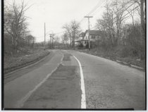 Image of Amboy Road at Barclay Avenue, photo by Herbert A. Flamm, 1951
