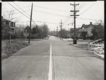 Image of Arden Avenue at Annadale Road, photo by Herbert A. Flamm, 1955