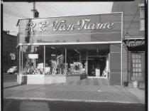 Image of [R.C. Van Name paint store] - Negative, Film