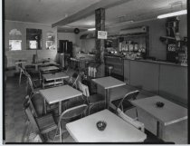Image of Charlie's Restaurant, photo by Herbert A. Flamm, 1963